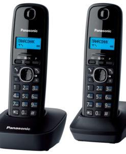 Panasonic KX-TG1612RUH - черный