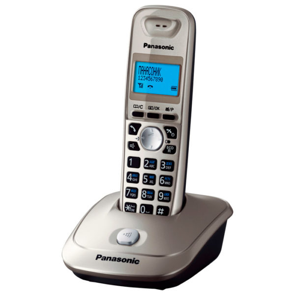 Panasonic KX-TG2511RUN - платиновый