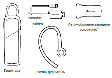 Блютуз гарнитура Plantronics Explorer 80 Onyx Black