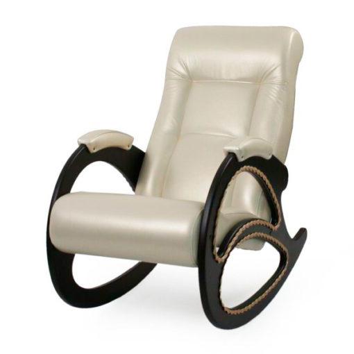 Кресло-качалка Dondolo-4, цвет обивки Орегон 106 жемчуг