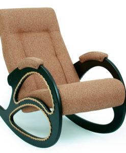 Кресло-качалка Dondolo-4, цвет обивки Malta 17 с лозой