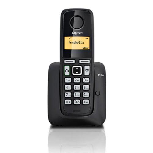 Радиотелефон Gigaset A220 Чёрный СТБ Germany