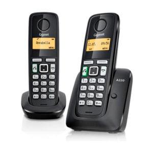 Радиотелефон Gigaset A220 Duo СТБ Germany