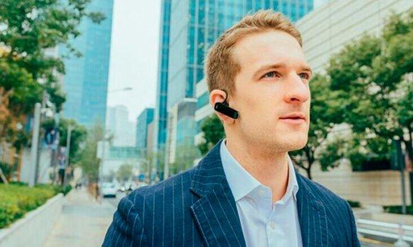 Bluetooth гарнитура Jabra Boost Чёрная