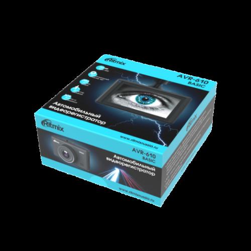 Ritmix AVR-610 BASICАвтомобильный Видеорегистратор