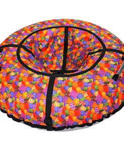 Тюбинг (надувные санки-ватрушка) Супергерои