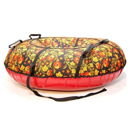 Тюбинг (надувные санки-ватрушка) Хохлома 105 см