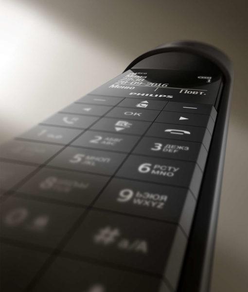 Стильный радиотелефон PHILIPS Faro M7701B/51