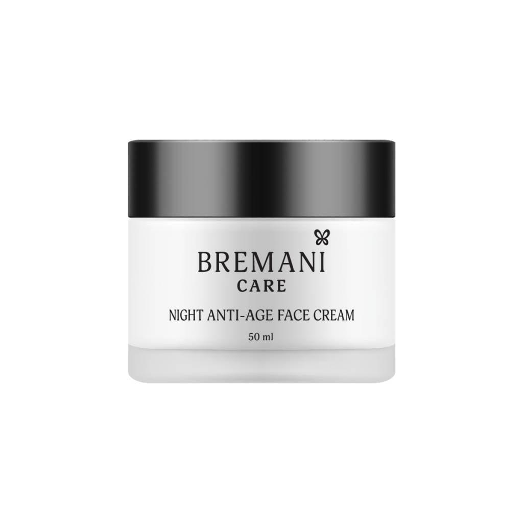 Интенсивный ночной антивозрастной крем для лица 40+ Bremani Care (пр-во Италия) [21602]