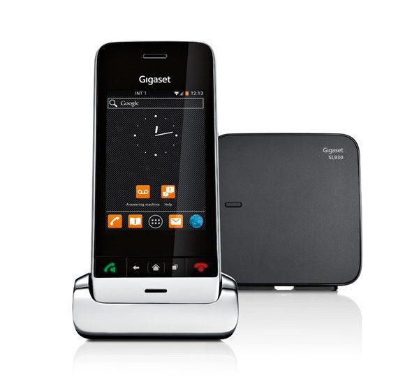 Радиотелефон Gigaset SL930A высококачественный беспроводной телефон DECT с автоответчиком