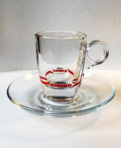 Чашки стеклянные KIMBO для кофе эспрессо