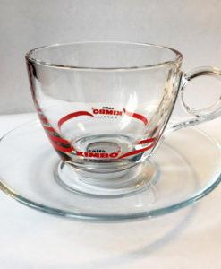 Чашки стеклянные KIMBO для кофе каппучино