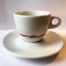 Чашки керамические с блюдцами KIMBO для кофе каппучино