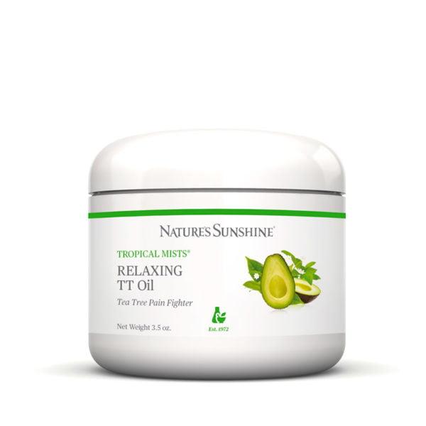 Обезболивающая расслабляющая мазь с маслом чайного дерева НСП для мышц и суставов Relaxing TT Oil NSP [61564]